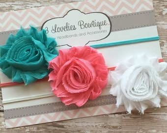 Baby Headband, Set of 3 Headbands, Newborn Headband, Baby Headbands, Newborn Headband, Headband Set, Baby Shower Gift, Headband, Baby, Girl