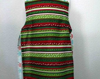 Holiday Adjustable Children's Apron