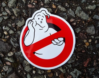 """Real Ghostbusters """"Bored"""" Logo Vinyl Sticker"""