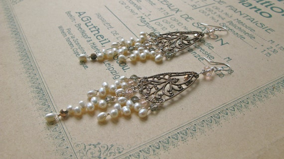 Pearl Chandelier custom d...