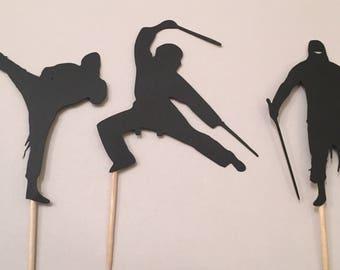 Ninja Cupcake Toppers Set of 12