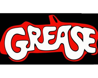Grease Vintage Image T-shirt