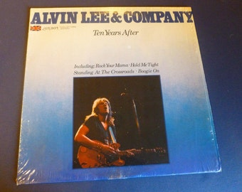 Ten Years After Alvin Lee & Company Vinyl Record LC 50013 London Records 1978