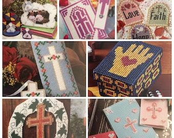 PDF 7 Plastic Canvas Faith Hope And Charity Set