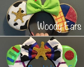 Toy Story Woody or Buzz Ears