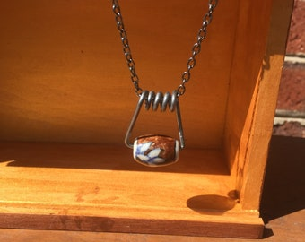 Clothes Pin Necklace