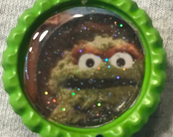 Oscar the Grouch (Sesame Street) Retractable Badge/ID Holder