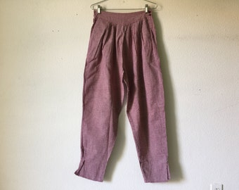 FREE SHIPPING - Vintage 70s India Cotton Pants