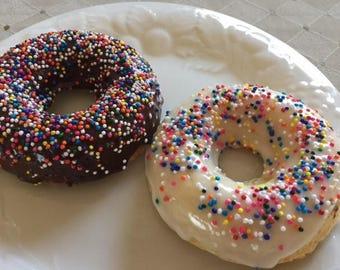 Glazed Vanilla Doughnuts