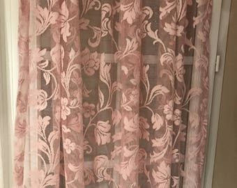 Sheer pink height custom 265 cm maximum