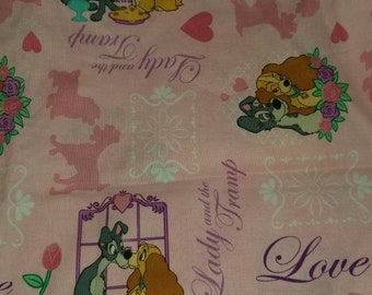 Custom  Lady and the Tramp Diaper you choose type and size Nb/Sm or Onesize