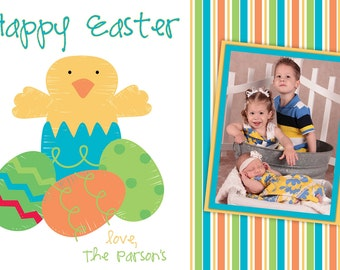 Spring Chick Easter Card Digital Photo