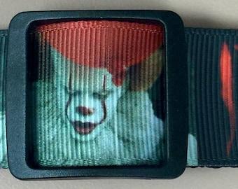 Dog Collar  *  Movie Clown **    * Adjustable Buckle  OR Martingale Collar**