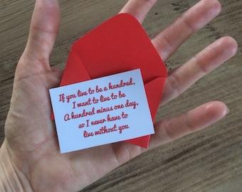 12 Miniature LOVE NOTES/ LETTER & Envelopes- birthday, anniversary