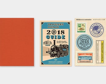Traveler's Notebook 2018 Dated Refill Monthly Passport
