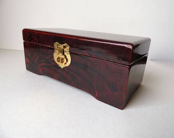 Wooden  Jewelry Box Lacquer