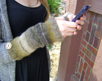 Hand Knit Arm Warmers - Perfect for Gift Giving or For Yourself
