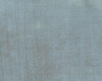 Moda Grunge Basics AVALANCHE Light Blue Mottled Background Fabric 30150-84 BTY