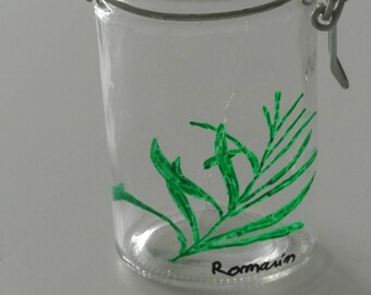Spice jar - range Spice - jar for storing Rosemary