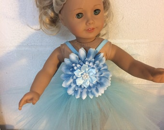 """ballerina #1 Doll clothes for the 18"""" doll like the American girl"""