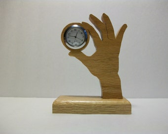 HAND Desk Clock