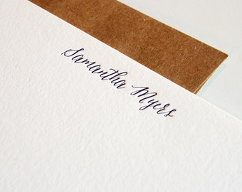Personalized Custom Stationery - 1color