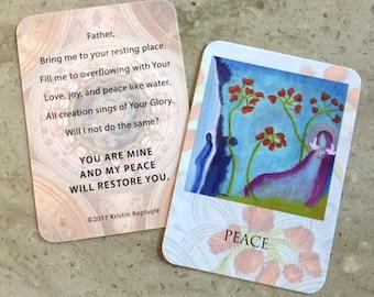 Peace Prayer Card