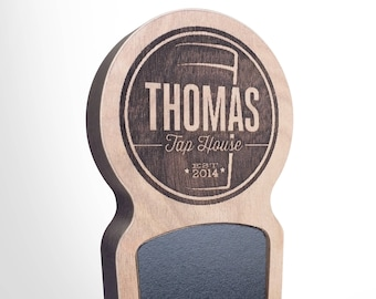 Engraved Custom Beer Tap Handle - Magnum