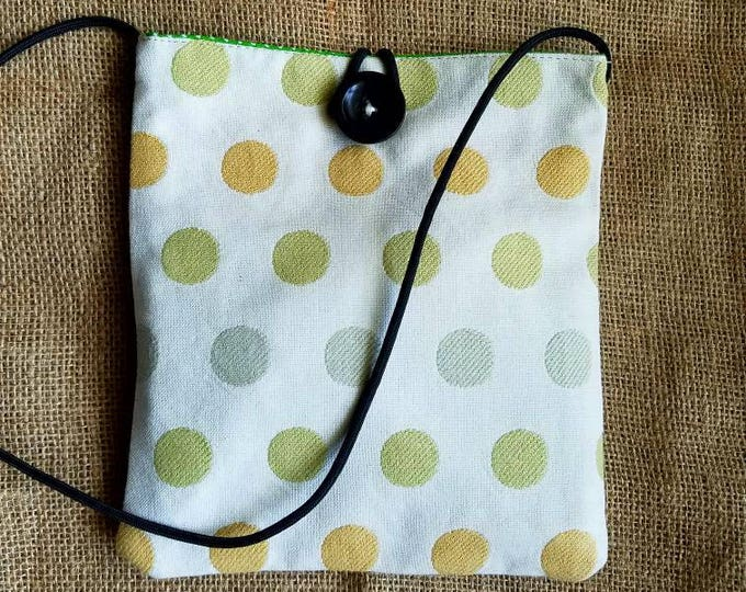 Bungee Sack in Yellow Dots