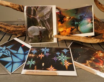Set of FIVE Assorted Christmas Holiday Cards