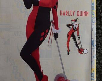 Simplicity 8434AA Costumes Harley Quinn DC Comics Originals (uncut) in sizes 10-18