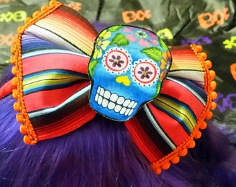 Sugar skull Fiesta headband