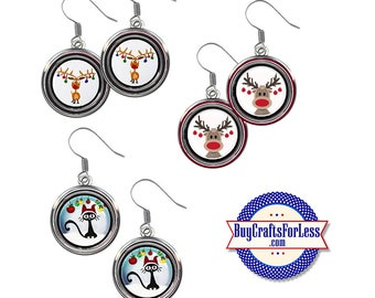 FuN CHRiSTMAS EARRINGS, 3 NEW CuTE Styles +99cent Shipping & Discounts*