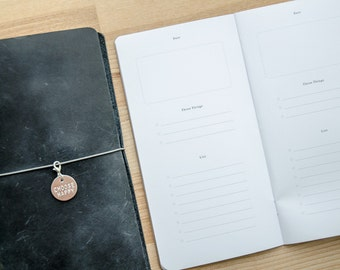 Digital • Dailies Notebook • Daily To Do and Planner for your Traveler's Notebook