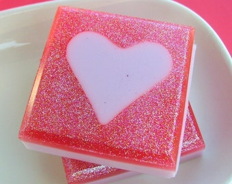 Valentines Day Gift. Valentines Day Gift for Her. Pink Sugar Love Soap. Valentines Day Kids. Gift for Wife. Girlfriend Gift. Wife gift