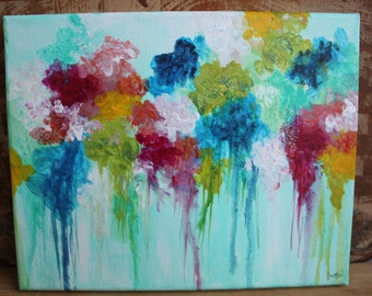 Abstract Spring Day Canvas