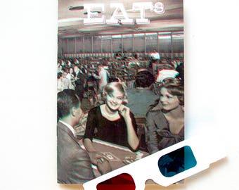 EAT Number 8 3-D Cover Food Zine