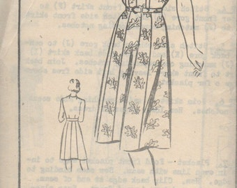 Mail Order Alden House Dress Pattern