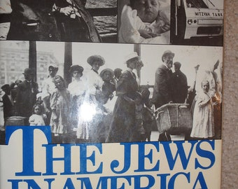 1978 first edition signed copy- 1978- The Jews in America by max dimont with dj
