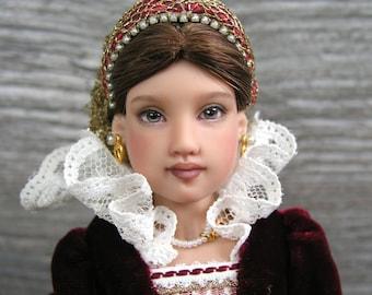 "Unique ООАК American Girl Doll Helen Kish Isabel Girls Of Many Lands England 9"""