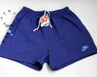 NOS Vintage Nike Air Jordan Jumpman junior shorts / Kids basketball pants / Youth trunks / Purple deadstock oldschool / Made in Greece 90s