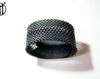 innertube bracelet upcycling