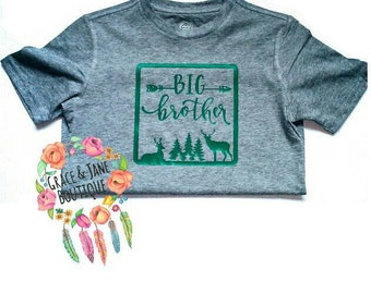 Big Brother Shirt, Brother Shirt, Big Brother, Brother Nature Shirt, Nature Shirt, Brother