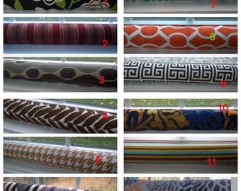 Window or Door draft Stopper,  Brown door draft stopper COVER, door draf blocker, up to 36 inches long, Black, Gray, orange, Tan,