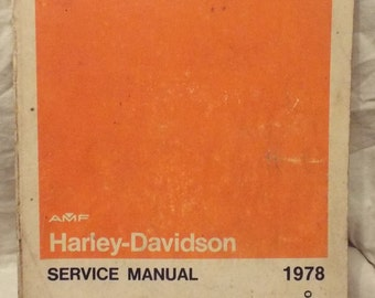 1970-1978 Harley Davidson Sportster XL Xlh Xlch Xlt Service Repair Manual