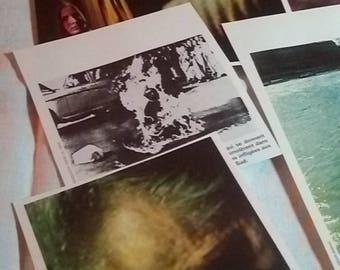 Pack ephemera, medicine, photos Psychiatry vintage 70's