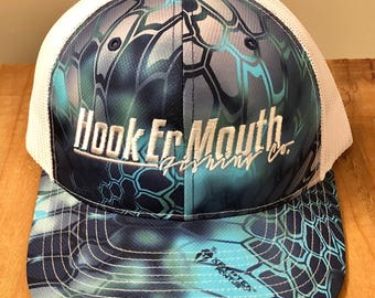 Hook er Mouth Aquatic Fishing Hat