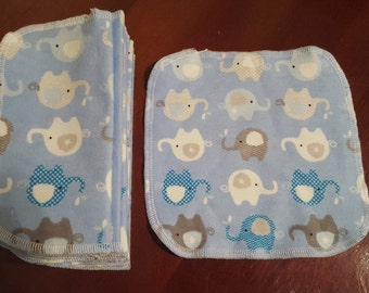 Reusable Baby Wipes 2 Ply