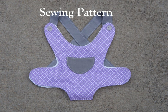 Baby Doll Carrier Sewing Pattern Doll Carrier Sewing