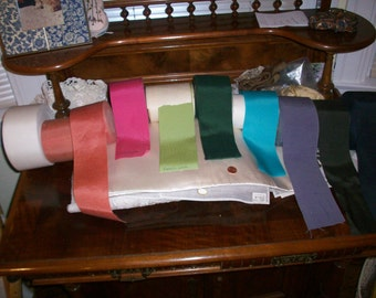 "petersham vintage ribbon in beautiful colors 3"" wide"